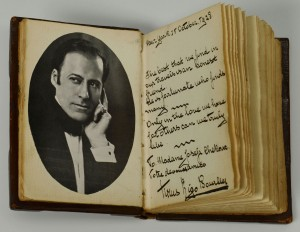 Lot 510: Early 20th Century Autograph Book