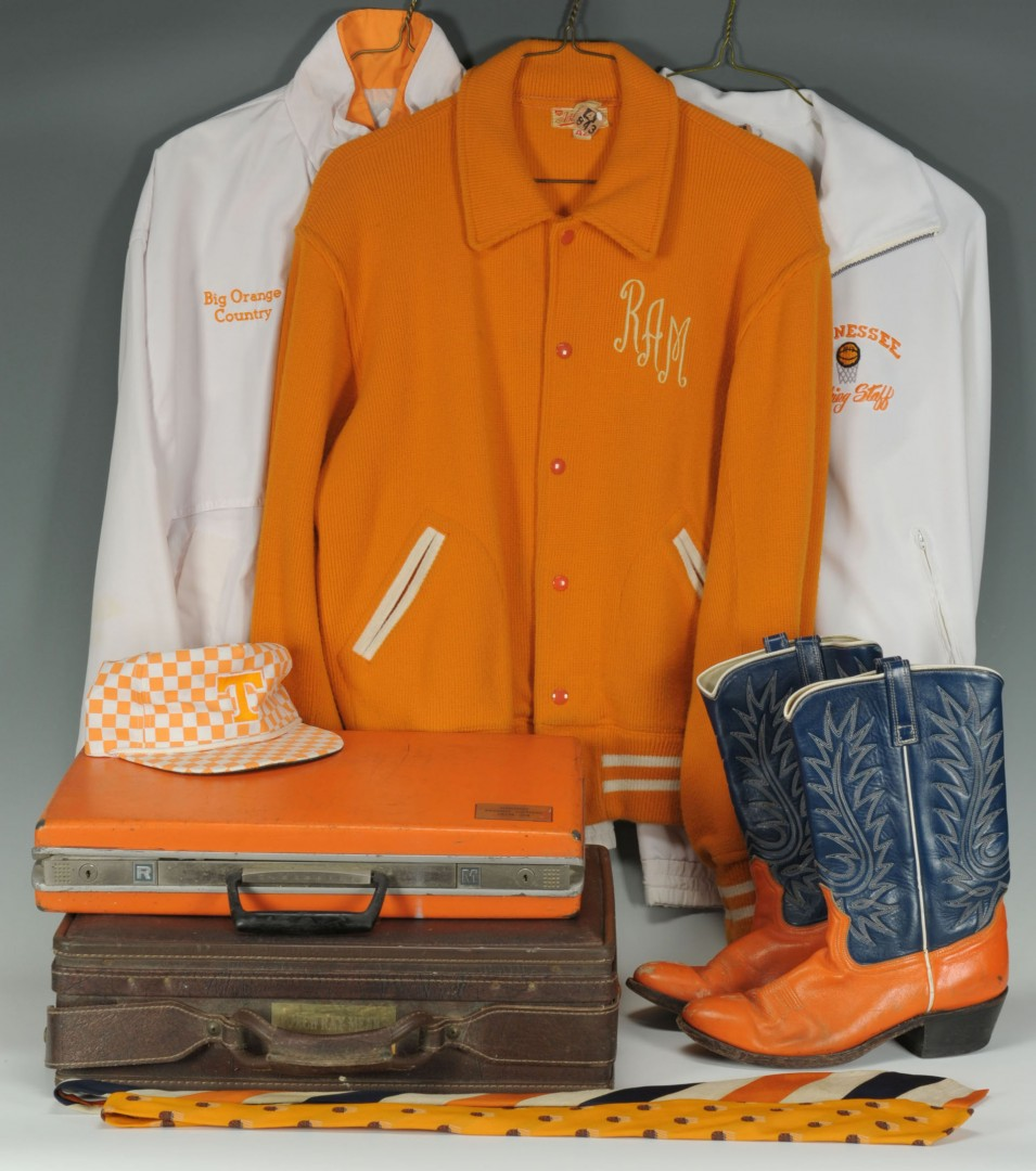 Collection of UT Basketball Coach Ray Mears Uniform items