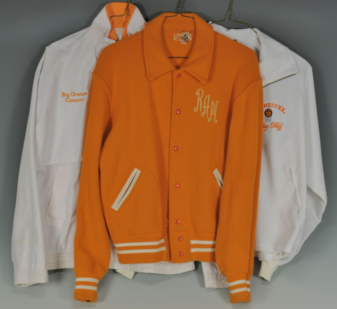 Lot 511: Collection of UT Basketball Coach Ray Mears Unifor