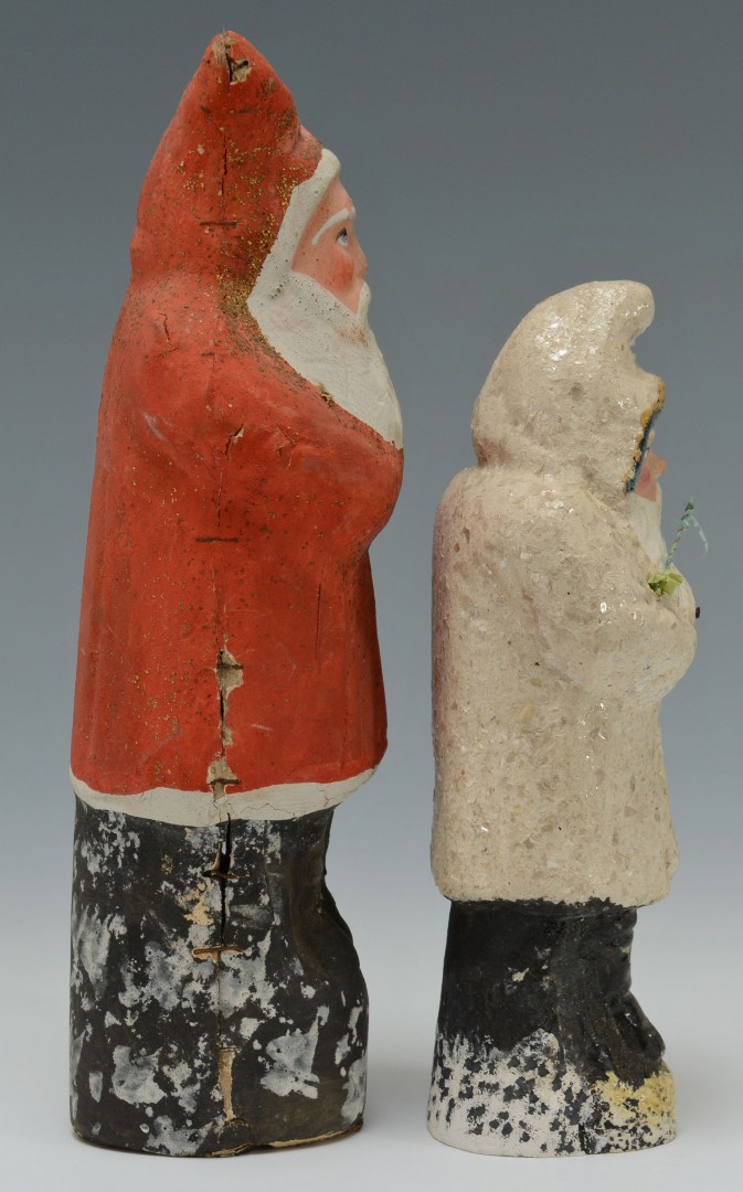 Lot 515: Two Early Santa Belsnickles