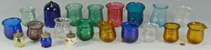 Lot 517: 20 Early Colored Christmas Lights and Salts