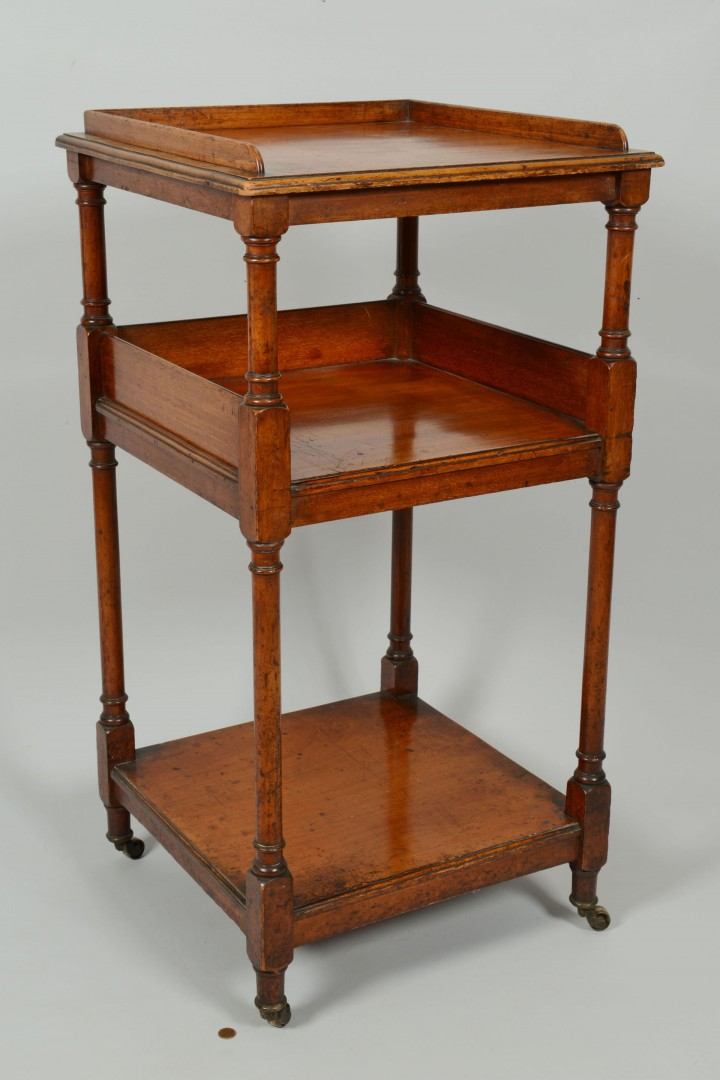 Lot 51: English Regency Dumb Waiter