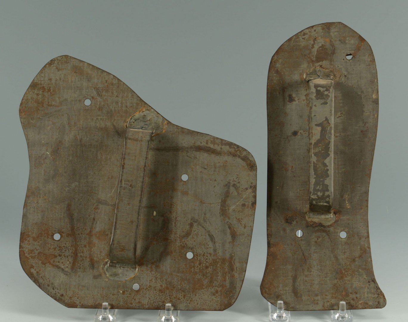 Early Tin Chocolate Molds and Large Cookie Cutters