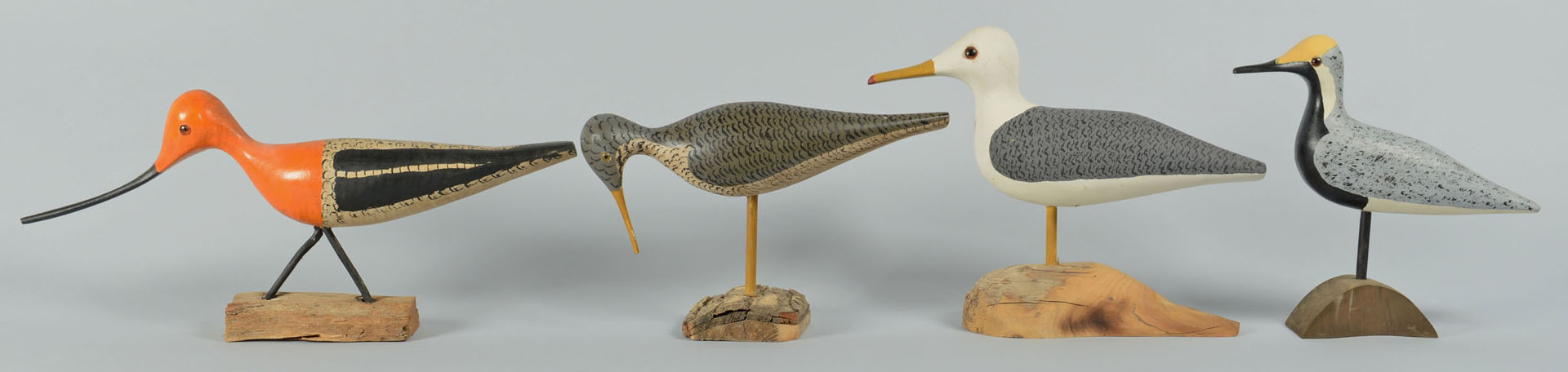 Lot 549: 8 Shorebirds by Percy Perkins, N.H. inc Seagull