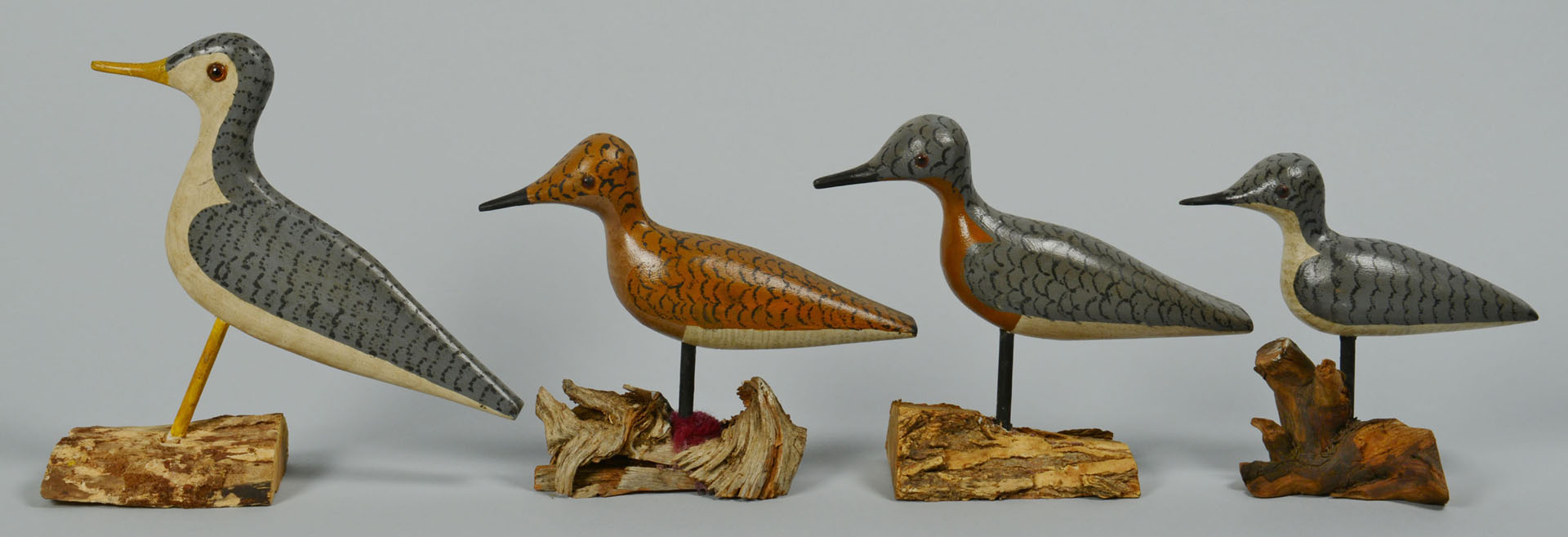 8 Shorebirds by Percy Perkins, N.H. inc Seagull