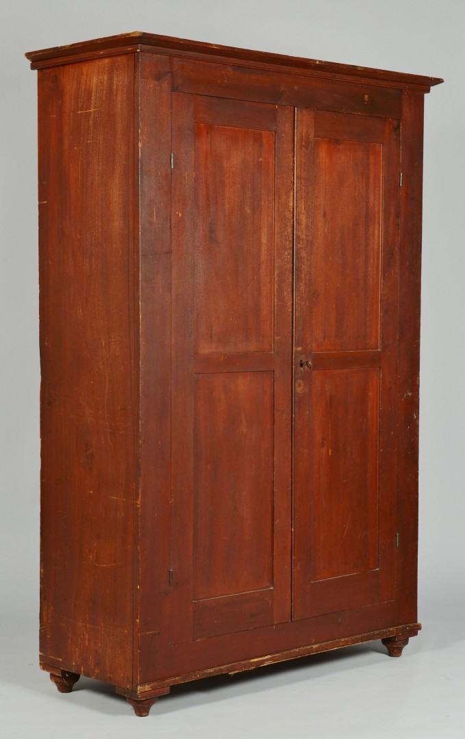 Southern Painted Wardrobe, possibly TN or MS