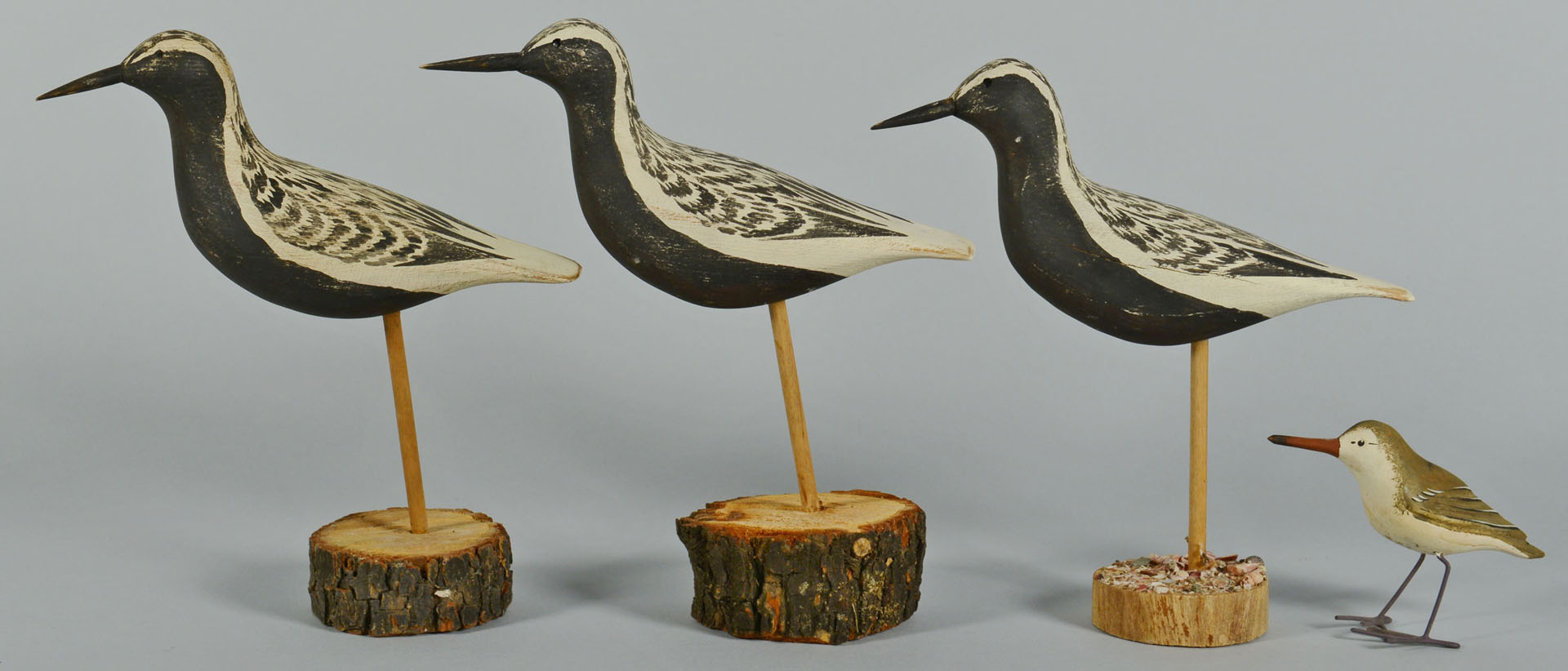 Lot 551: 13 Shorebirds by Ralph Coykendall