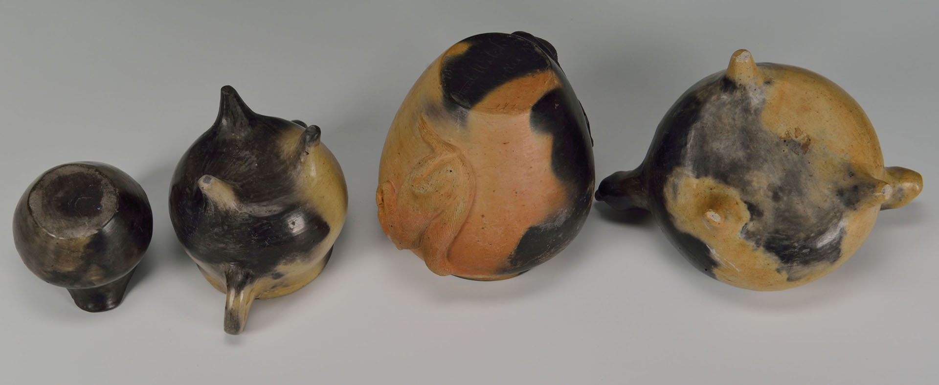4 pieces of Cherokee Pottery incl. Maude Welch