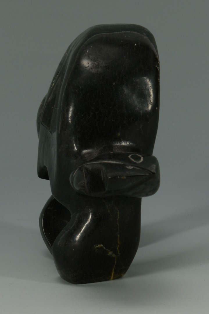 George Arlook Inuit Sculpture & Other, 2 items