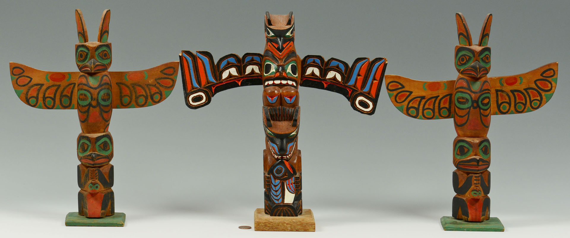 3 NW Native American Totems, 1 by Marlin Alphonse