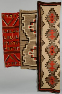 Lot 566: Grouping of 3 Navajo Weavings