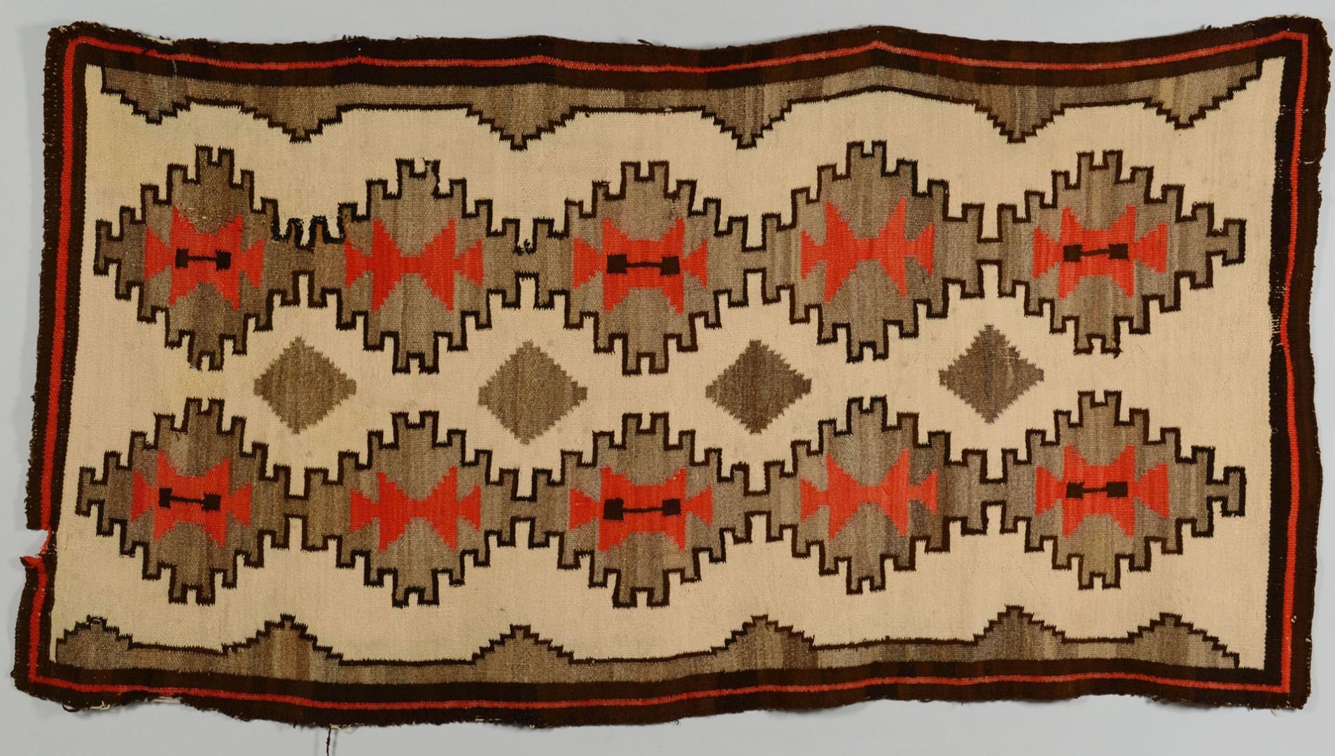 Grouping of 3 Navajo Weavings