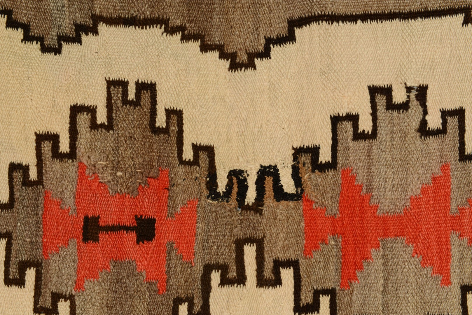 Lot 566: Grouping of 3 Navajo Weavings