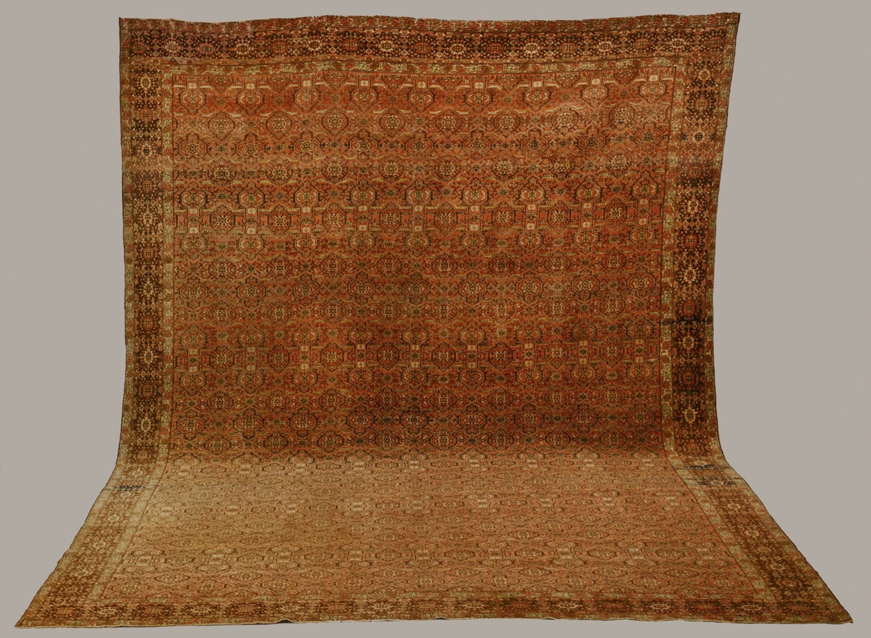 Lot 567: Large 12.5' x 18.4' Antique Persian Tabriz