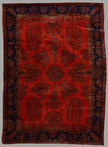 Lot 568: Semi-Antique Persian Manchester Kashan Carpet