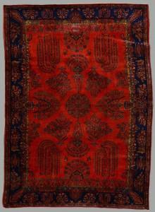 Lot 568: Semi-Antique Persian Manchester Kashan Carpet