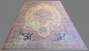 "Lot 572: Antique Isparta Serapi style Carpet, 21'6"" x 12'6"""