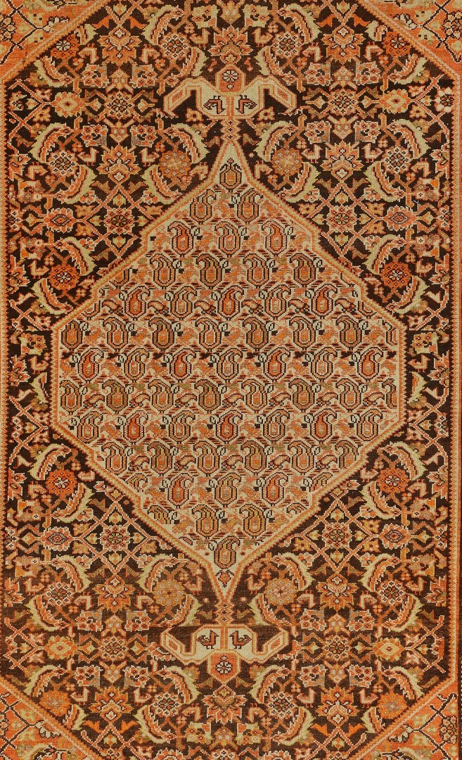 Lot 573: Antique Malayer rug 4' x 6', circa 1910