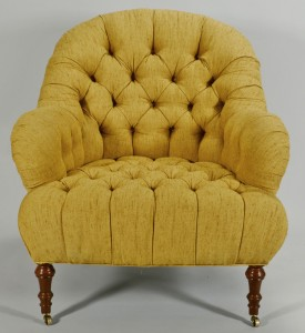 Lot 575: Upholstered Lounge or Club Chair by Sherrill