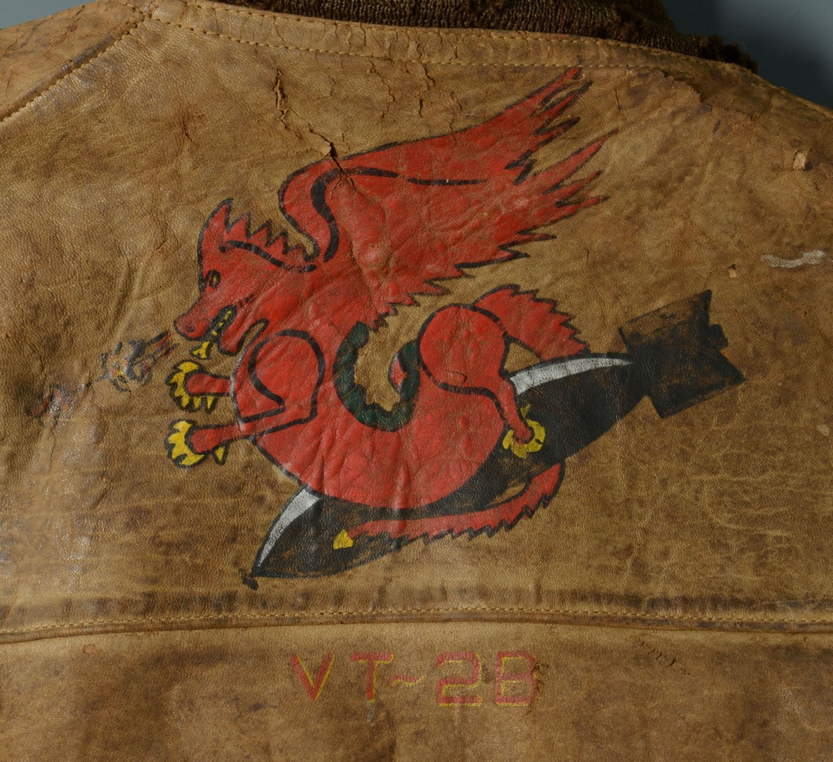 Lot 580: Rear Admiral Ballentine Naval Flight Jacket and Ar