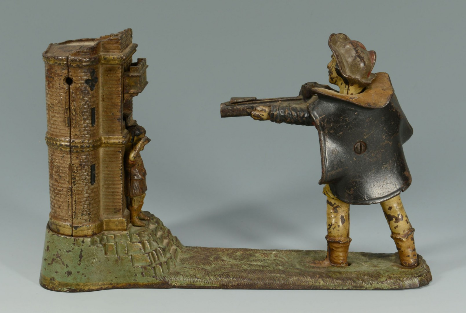 Lot 584: William Tell Cast Iron Mechanical Bank
