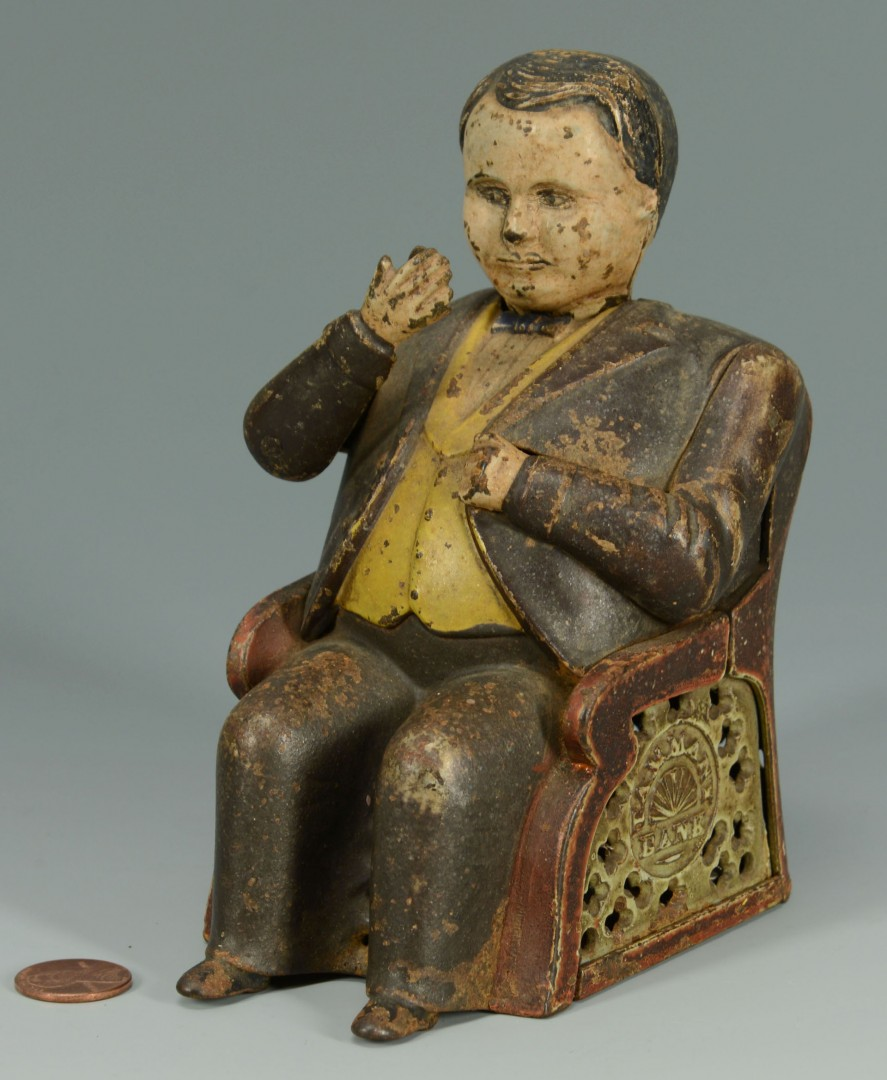 Lot 585: Tammany Hall Cast Iron Mechanical Bank
