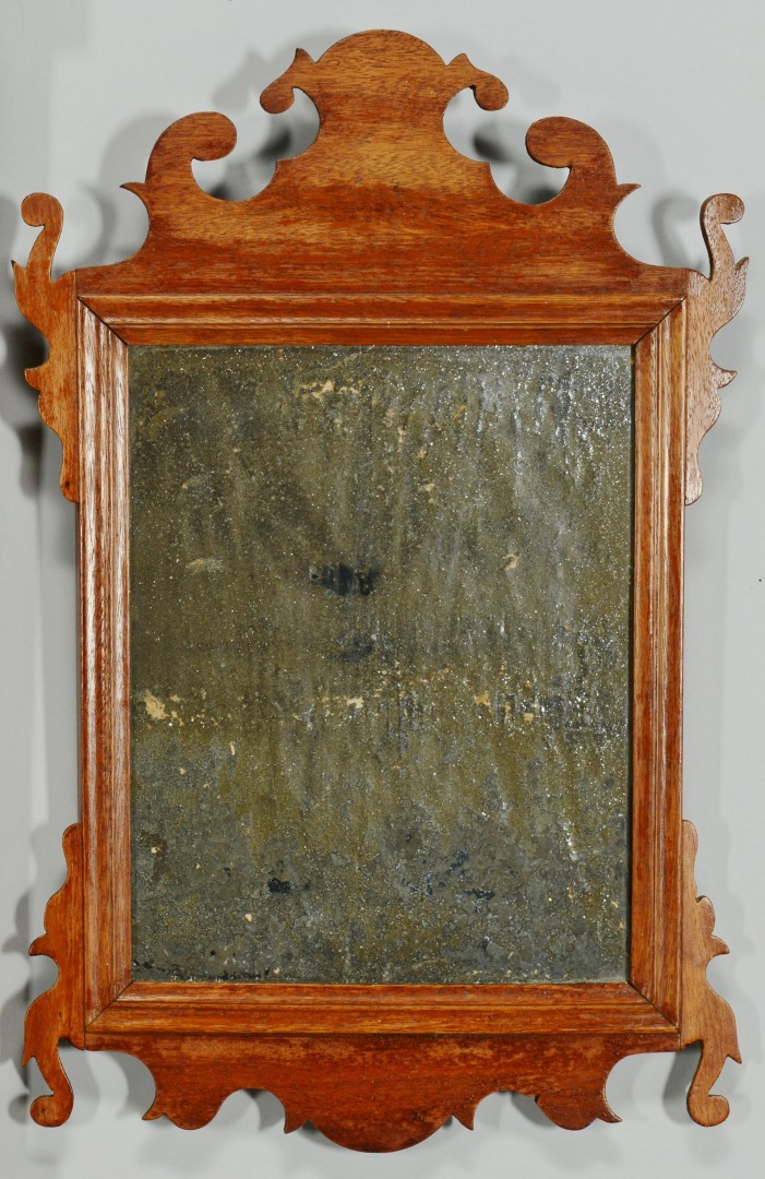 Lot 58: Two early mirrors plus Washington ptg