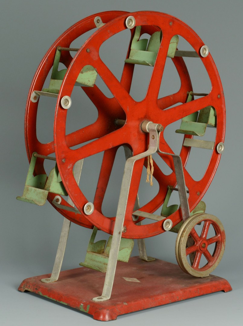 4 Lithographed Tin Toys