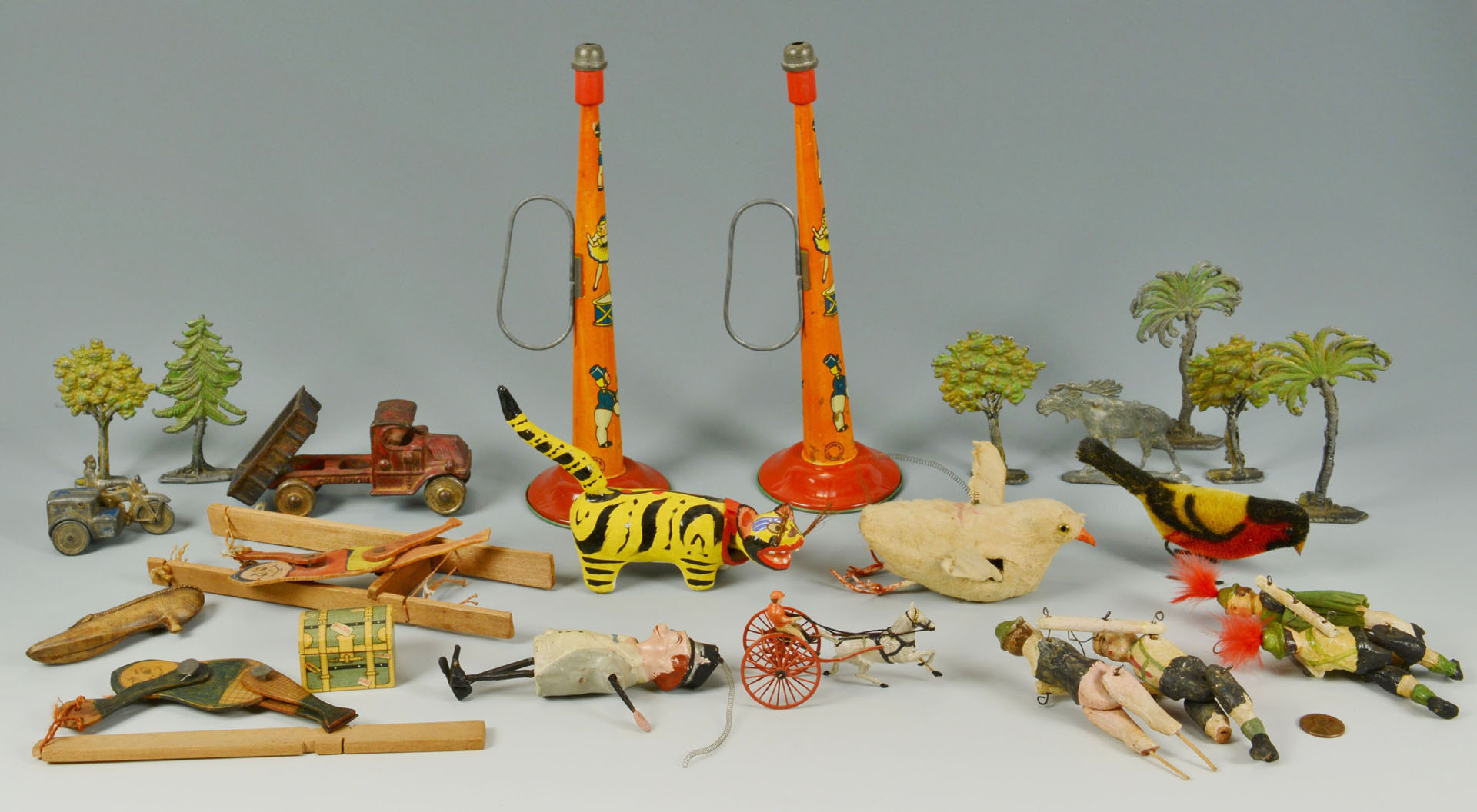 Group of Early to Mid 20th Century Toys