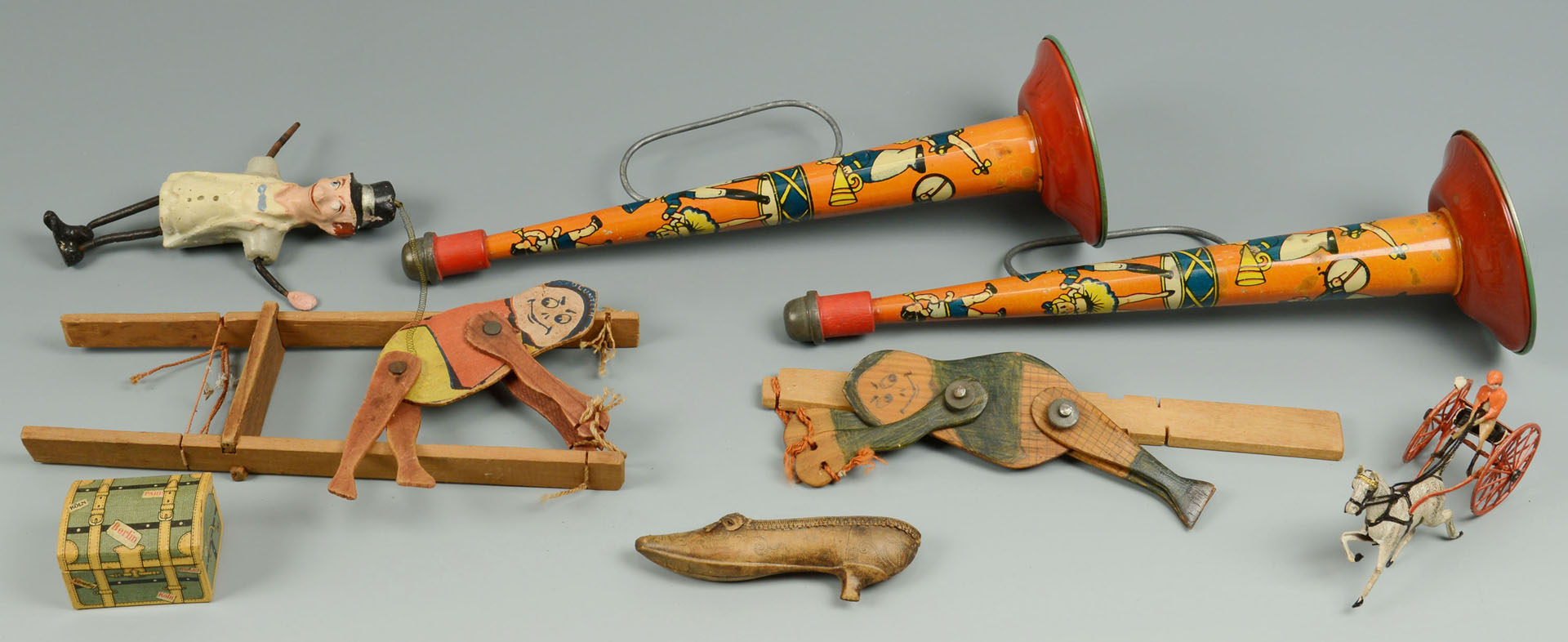 Lot 594: Group of Early to Mid 20th Century Toys