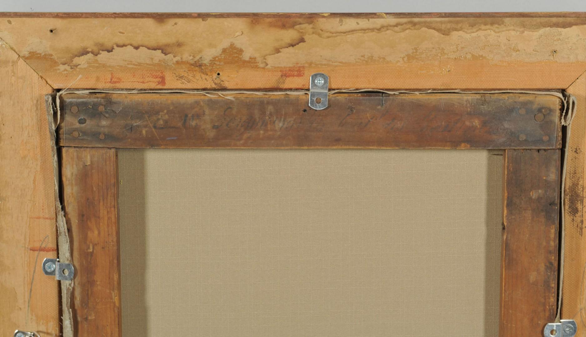 Lot 601: Jean Seignemartin Floral Still Life oil on canvas