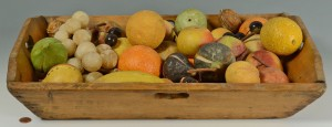 Lot 60: Large Selection of Stone Fruit, late 19th c.