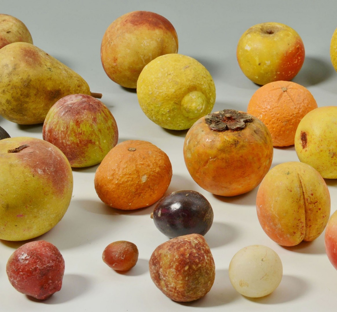 Large Selection of Stone Fruit, late 19th c.