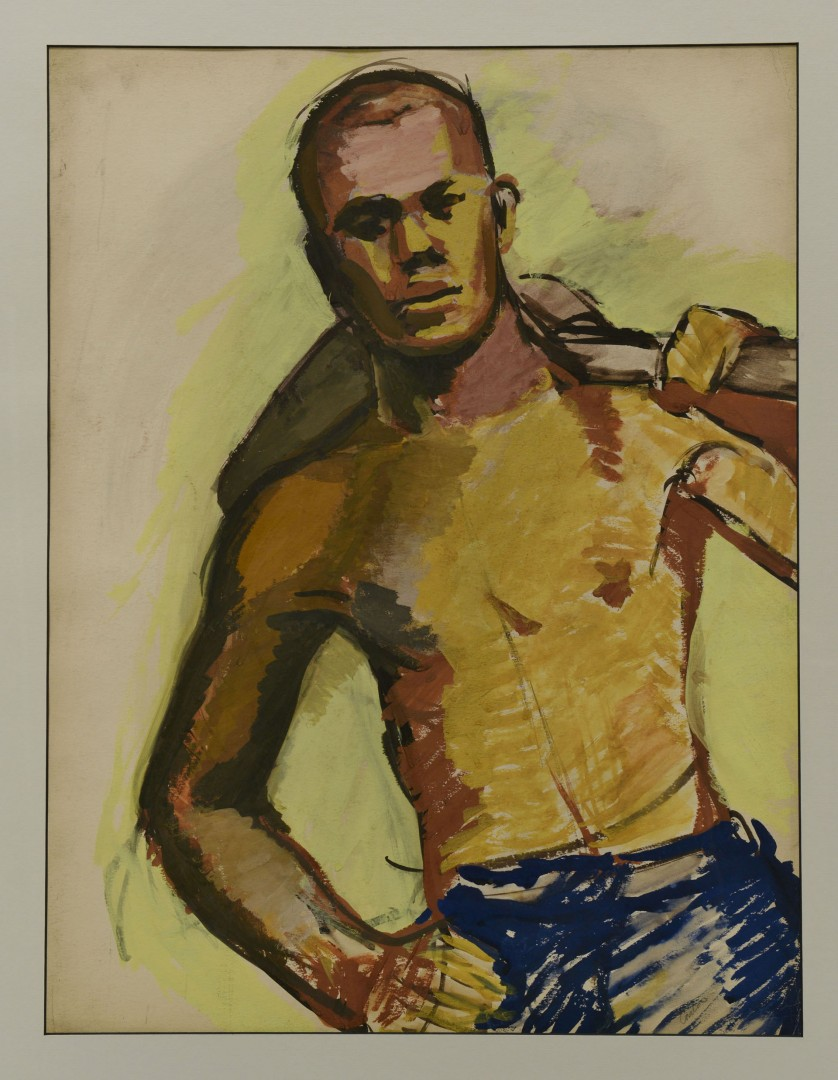 Lot 610: 2 Carlos Cervantes Paintings