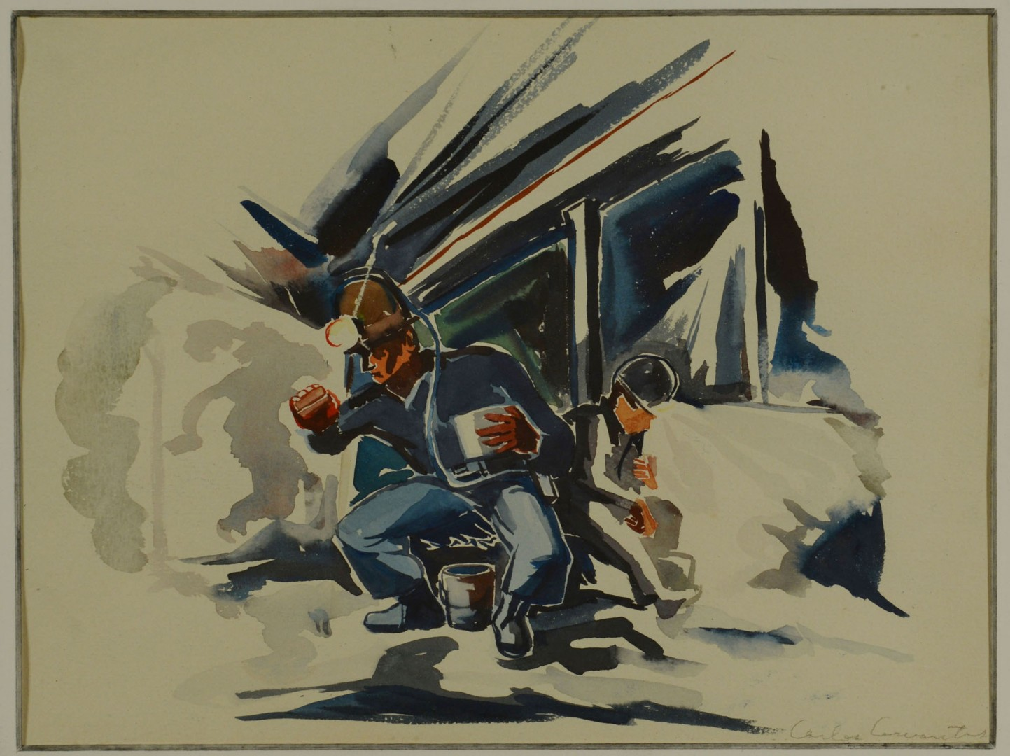 2 Carlos Cervantes Paintings