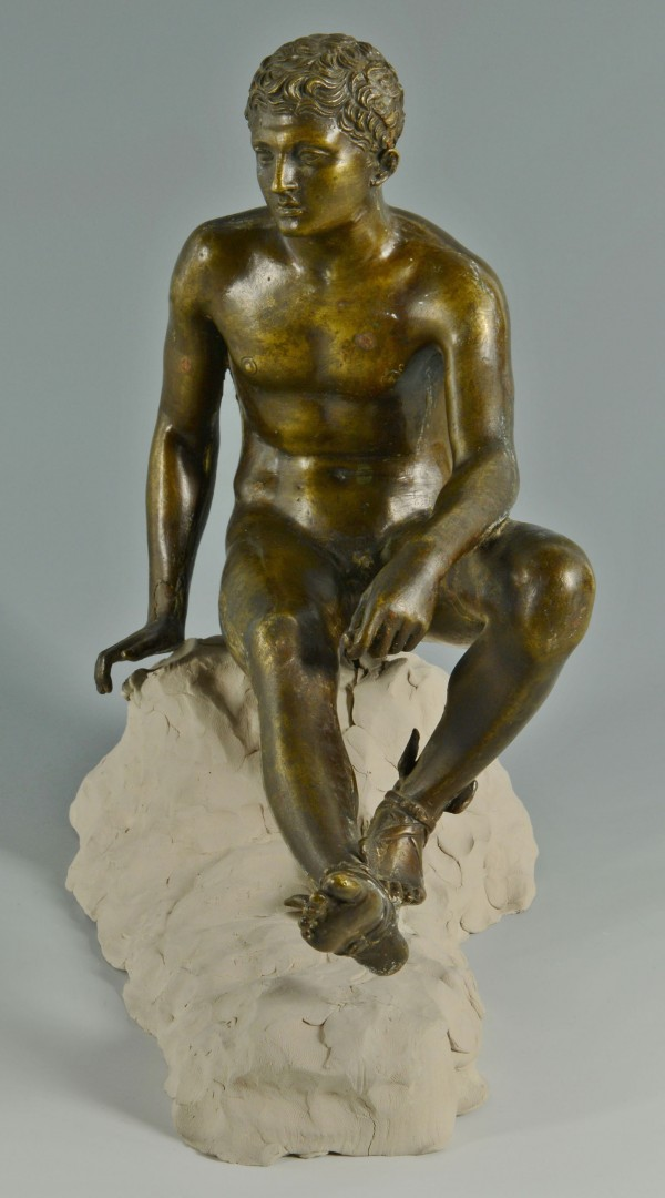 Bronze Sculpture of Hermes, Sommer Artistic Foundry