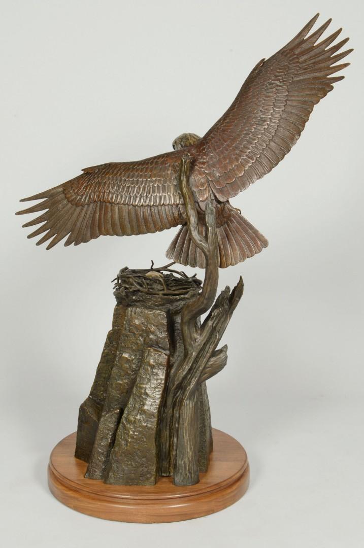 Stan Bentall Bronze Eagle Sculpture