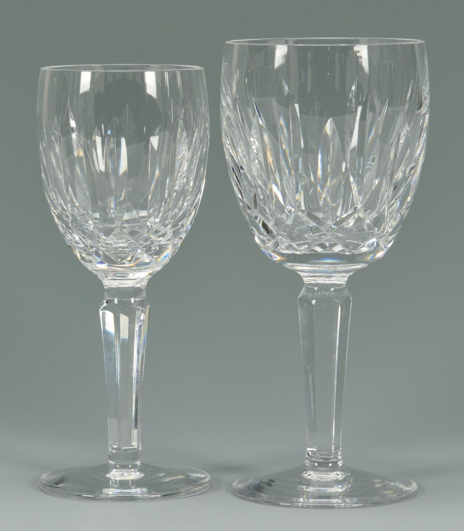 16 Waterford Crystal Glasses, Kildare Pattern
