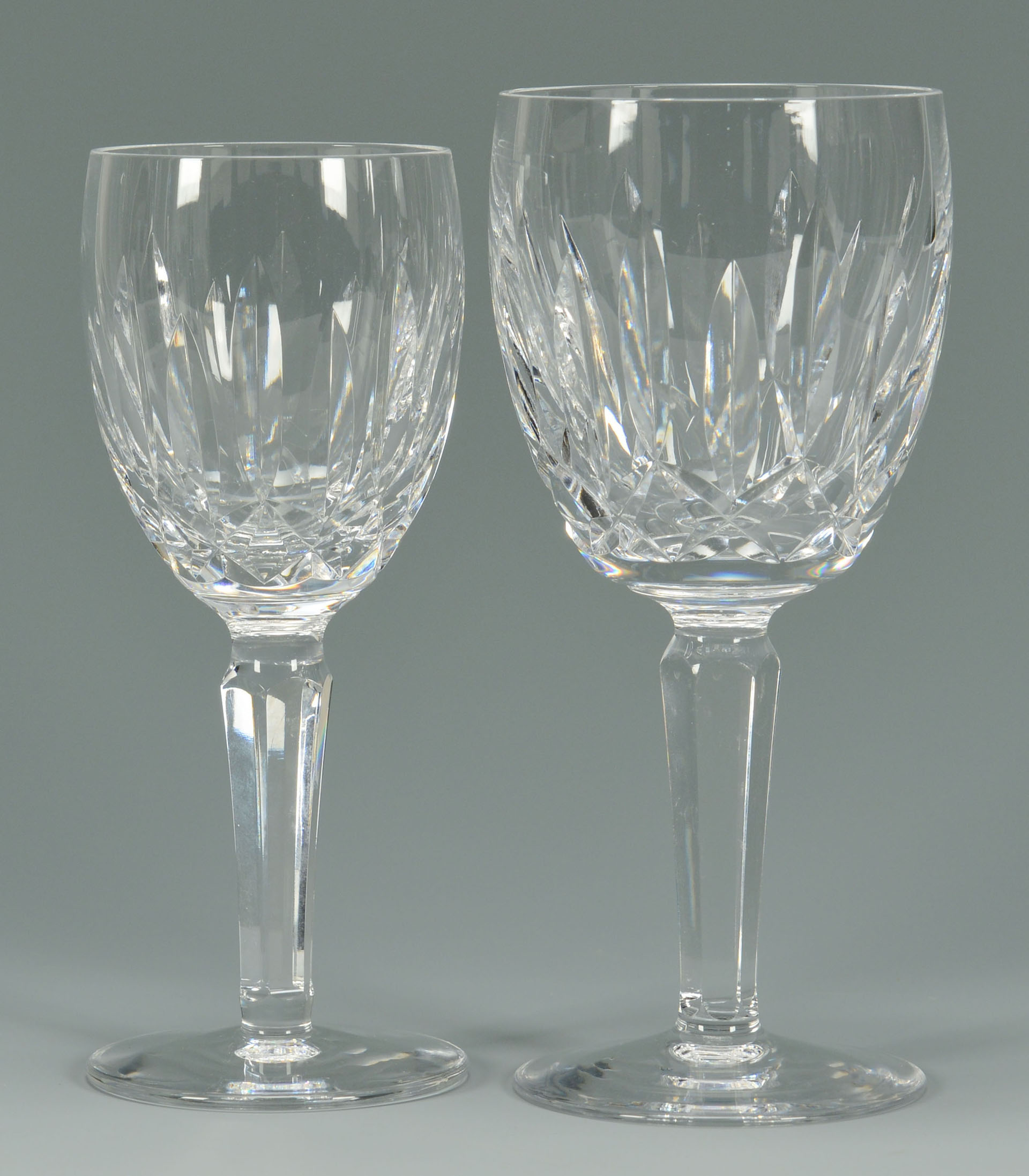 Lot 626 16 Waterford Crystal Glasses Kildare Pattern