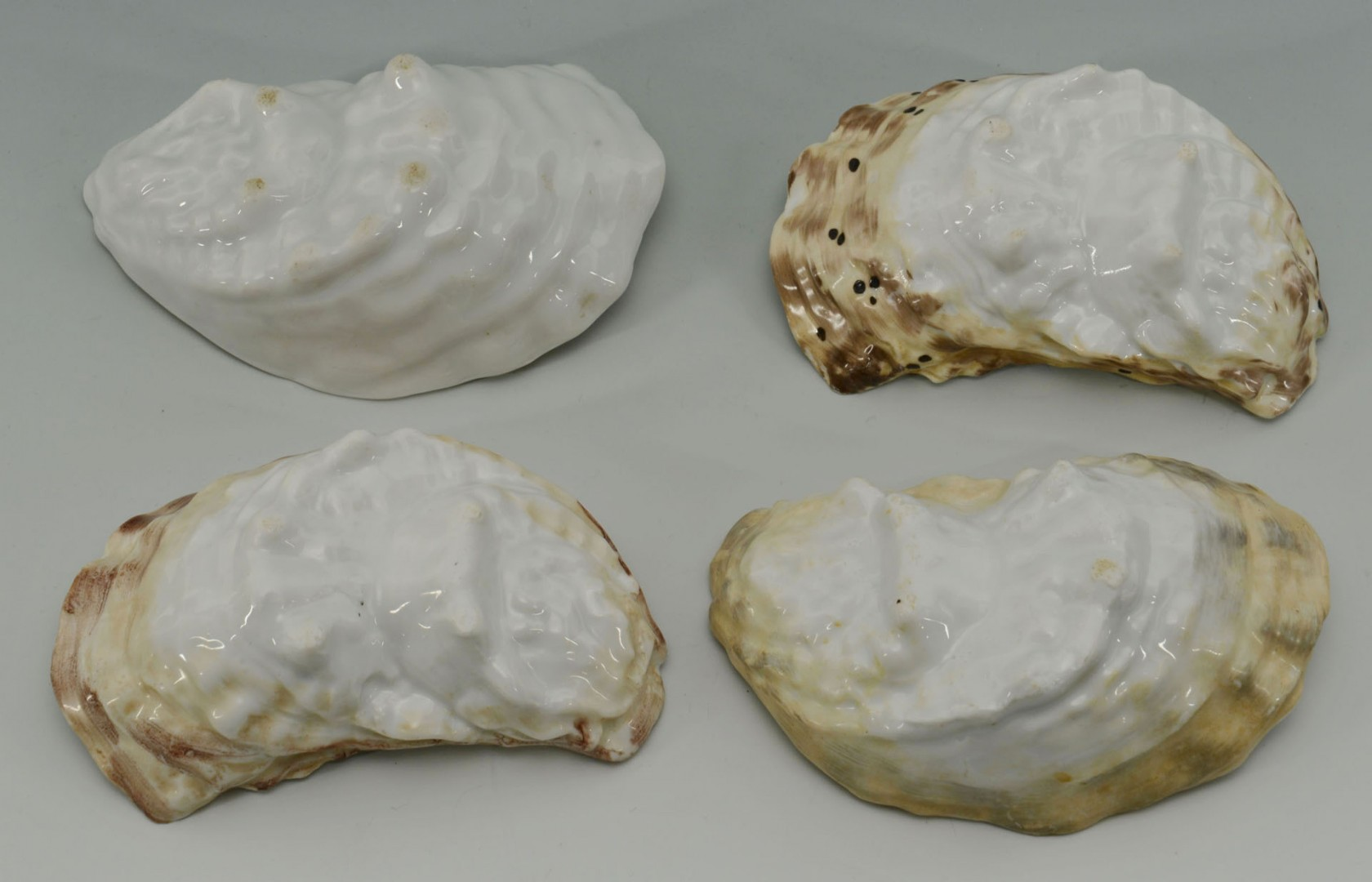 Grouping of KPM Plates, Oyster Cups, Figurals