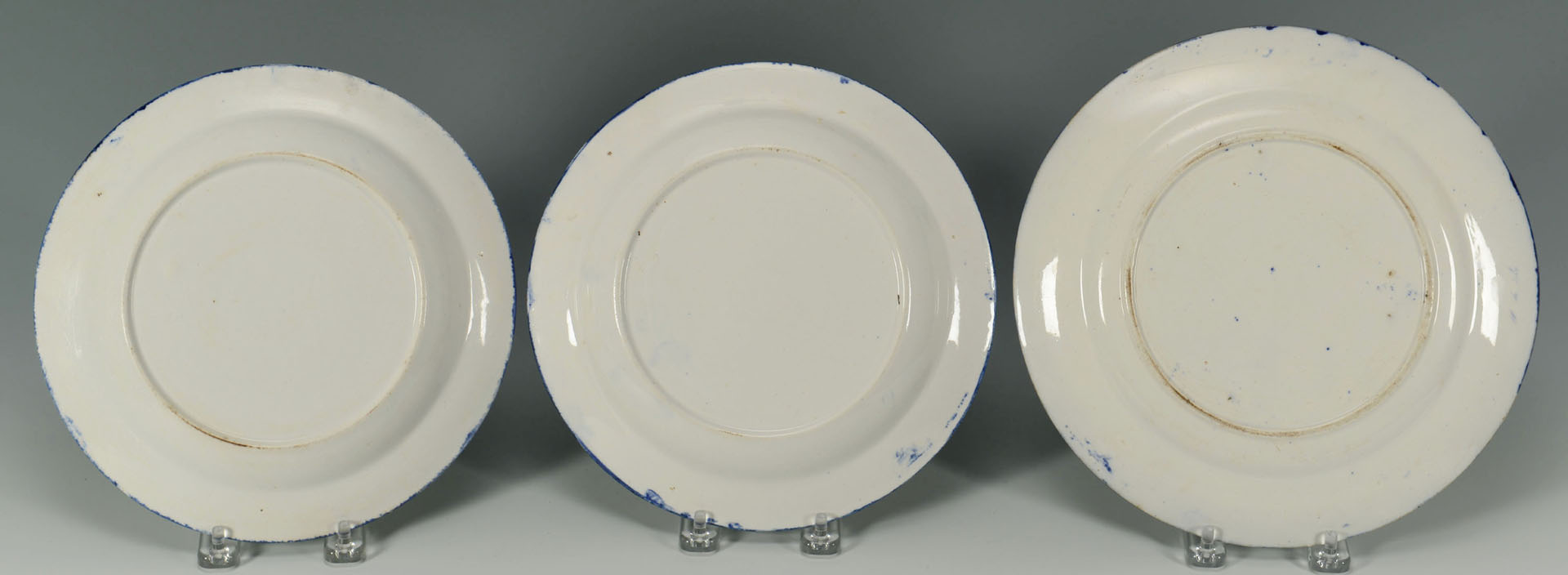 9 Spatterware and spongware related items