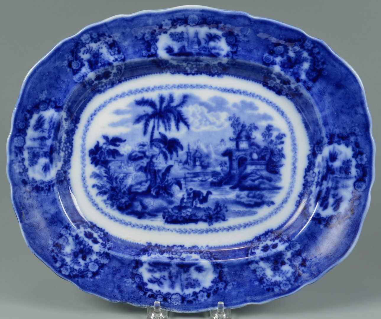 Lot 637: Group of Flow Blue, Lahore and Oriental