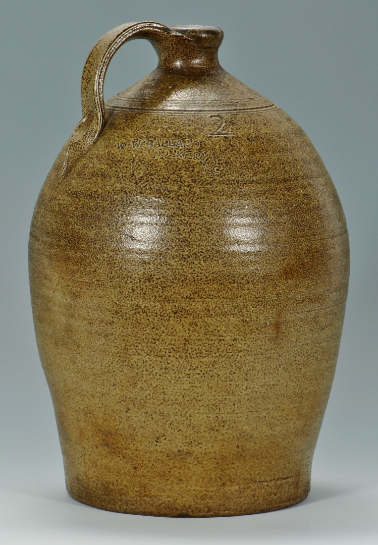 Lot 63: NC 2 Gallon Jug W.W. Ballard