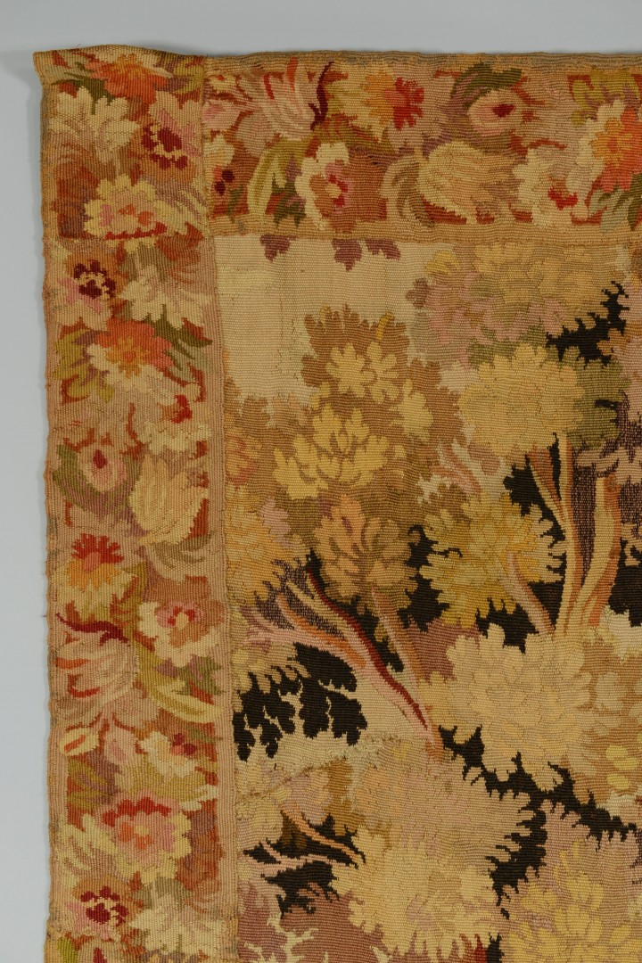Lot 651: Large Continental Tapestry with Fox