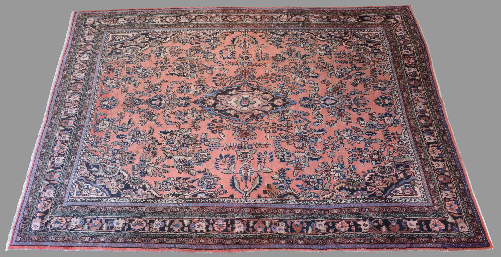 Semi-Antique Persian Arak Carpet