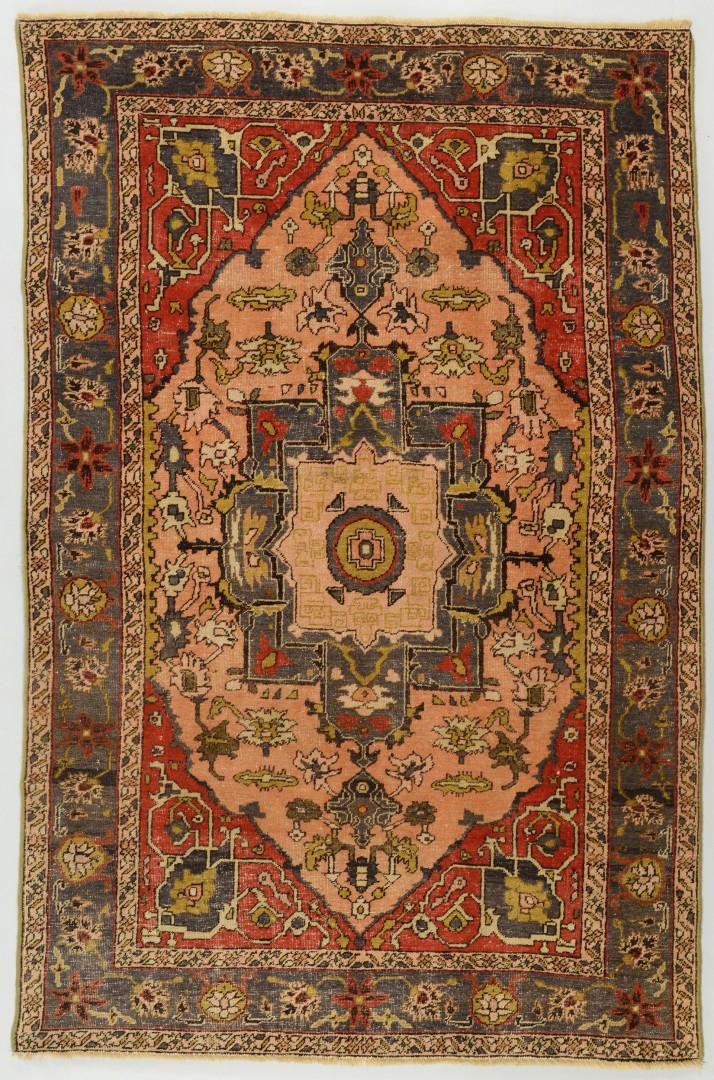 Lot 660: Semi-antique Turkish Konya Rug, 6.5 x 4.2