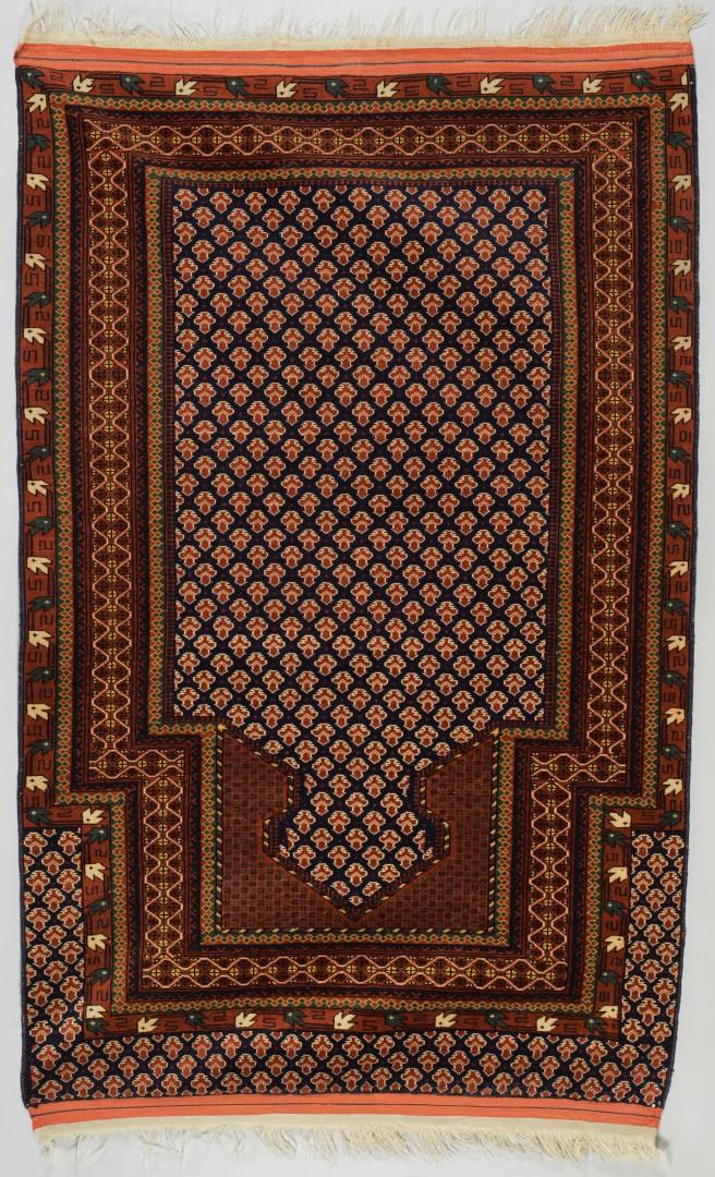 Turkoman Prayer Rug, 5.6 x 3.5