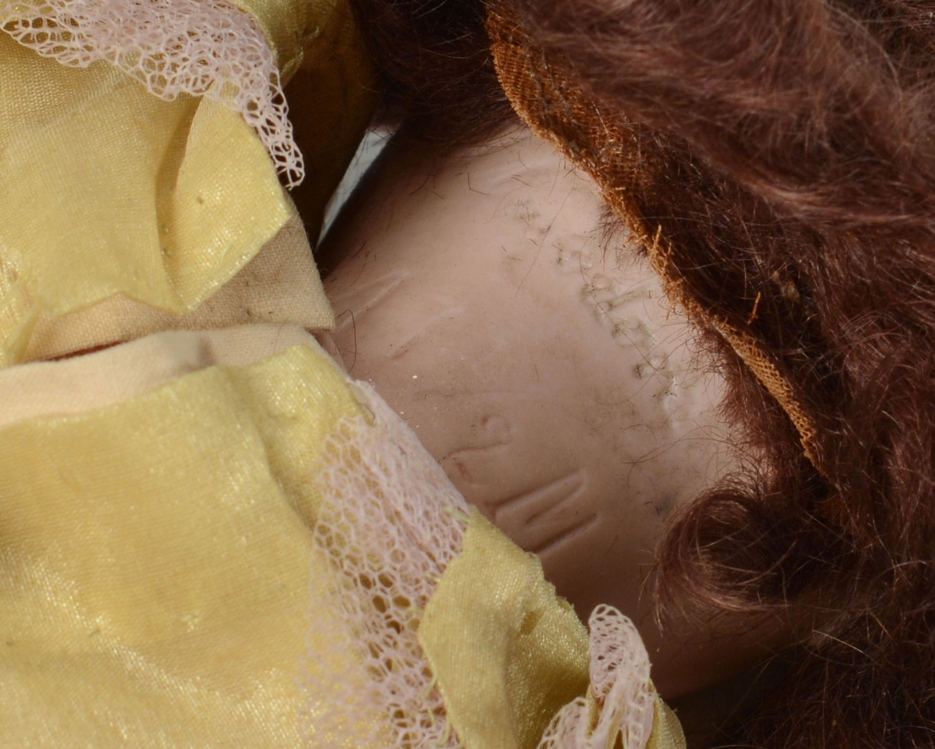 Lot 678: 3 German Bisque Head Dolls