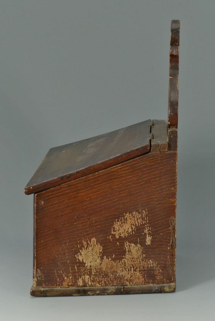 Lot 67: Grain Painted Wall Box