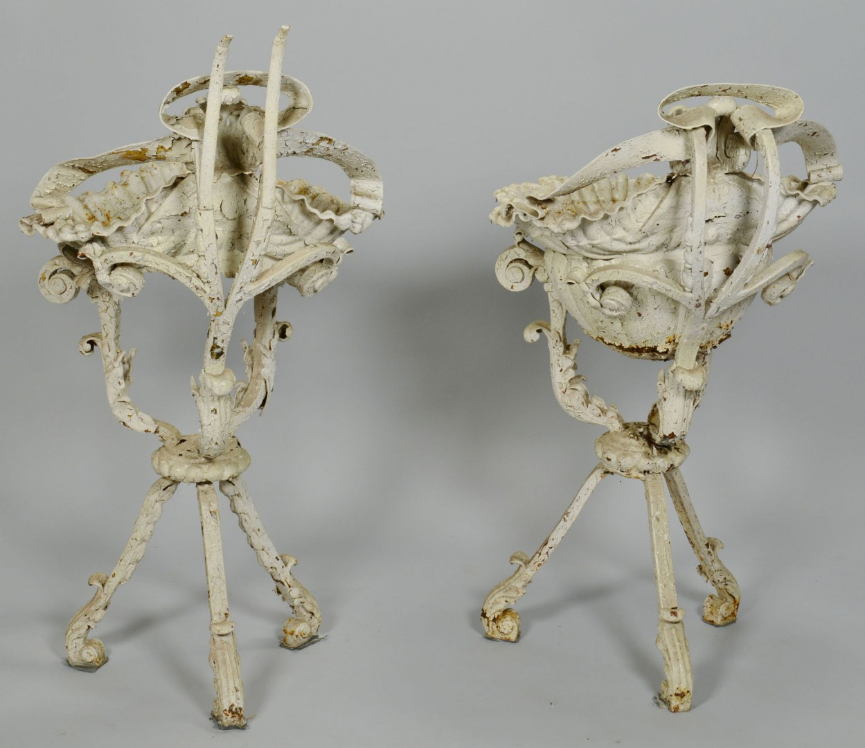 Pair Victorian Plant Stands